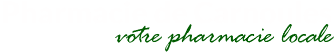 Pharmacie de Carnoules Logo